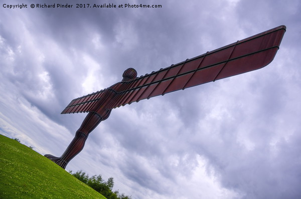 Angel of the North Canvas print by Richard Pinder