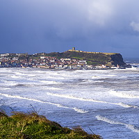 Buy canvas prints of Scarborough South Bay by Richard Pinder