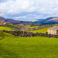 Buy canvas prints of Swaledale, North Yorkshire. by Richard Pinder