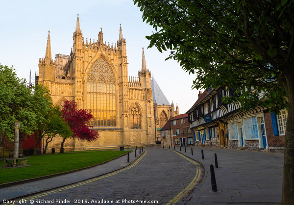 York Minster. Canvas print by Richard Pinder