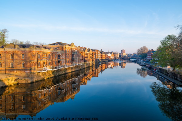 River Ouse, York Canvas print by Richard Pinder