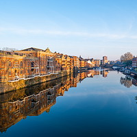 Buy canvas prints of River Ouse, York by Richard Pinder