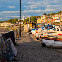 Buy canvas prints of Filey Coble Landing by Richard Pinder