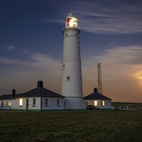 Buy canvas prints of Nash point Lighthouse by Dean Merry