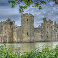 Buy canvas prints of  Bodiam Castle by Dan Charlton