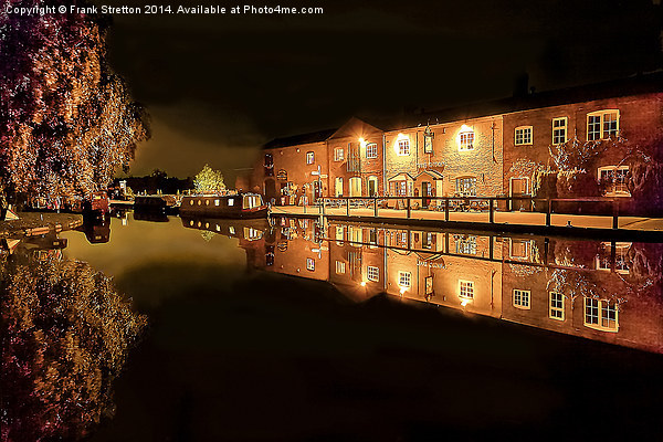 Fradley Canal Junction Canvas print by Frank Stretton