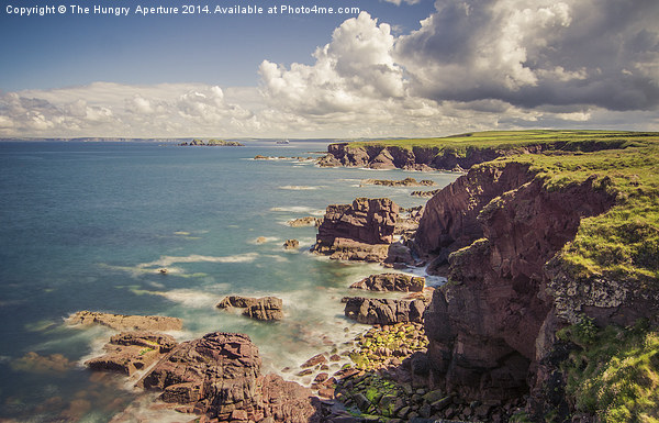 Pembrokeshire Coast Framed Print by The Hungry  Aperture