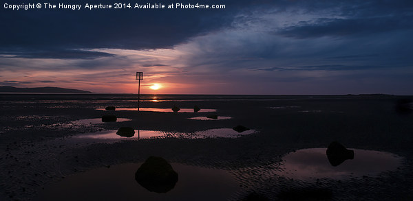 West Kirby Sunset Canvas Print by The Hungry  Aperture