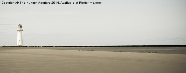 New Brighton Print by The Hungry  Aperture