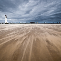 Buy canvas prints of WideSands at New Brightron by The Hungry  Aperture