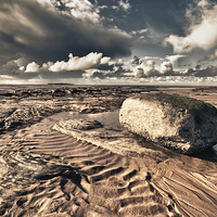 Buy canvas prints of HDR Sands by The Hungry  Aperture