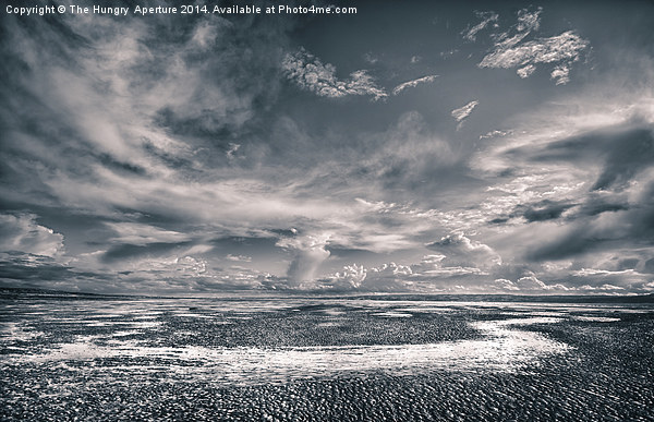Beach Chaos HDR Canvas Print by The Hungry  Aperture