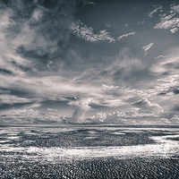 Buy canvas prints of Beach Chaos HDR by The Hungry  Aperture