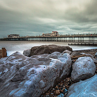 Buy canvas prints of On The Rocks. by Peter Bunker