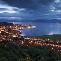 Buy canvas prints of Town and country by Stephen Taylor