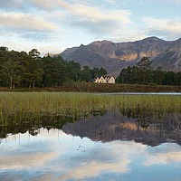 Buy canvas prints of Beinn Eighe and The Coulin Lodge by Stephen Taylor