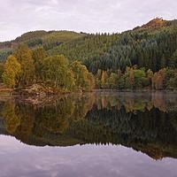 Buy canvas prints of Dawn on Loch Tummel by Stephen Taylor