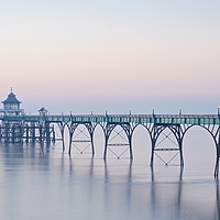 Buy canvas prints of Clevedon Pier by Stephen Taylor