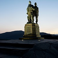 Buy canvas prints of The Commando Memorial by Stephen Taylor
