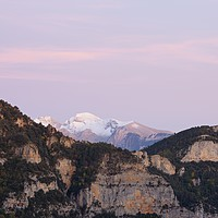 Buy canvas prints of Twilight in the Pyrenees by Stephen Taylor