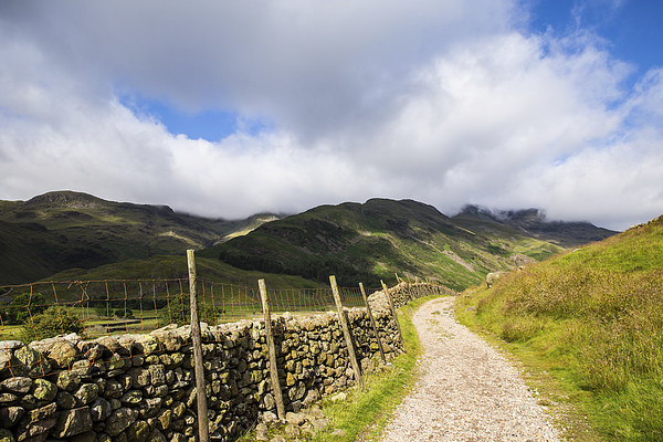 Into the Mountains, Scafell Pike Canvas print by Gregory Culley