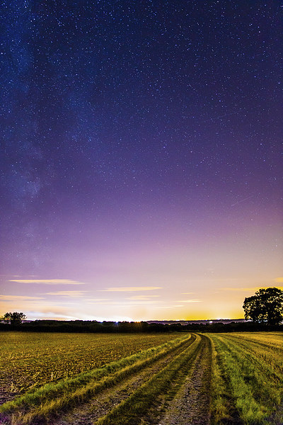 The Milky Way rising  Canvas print by Gregory Culley