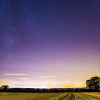 Buy canvas prints of  The Milky Way rising  by Gregory Culley