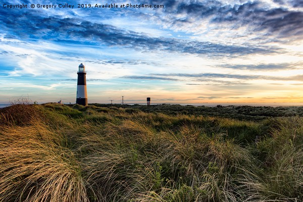 Spurn Point Lighthouse Canvas print by Gregory Culley