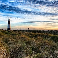 Buy canvas prints of Spurn Point Lighthouse by Gregory Culley