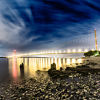 Buy canvas prints of An evening shot of the River Humber  by Gregory Culley