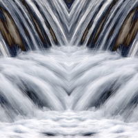 Buy canvas prints of  The Weir by Sally Lloyd
