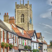 Buy canvas prints of Princes Street Norwich by Sally Lloyd