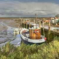 Buy canvas prints of Brancaster Staithe north Norfolk by Sally Lloyd