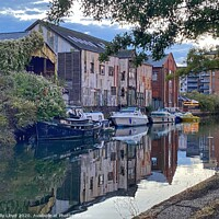 Buy canvas prints of River City View Norwich  by Sally Lloyd