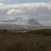 Buy canvas prints of Ingleborough by Annie Page