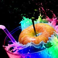 Buy canvas prints of Apple Splash by john Sprague