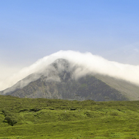 Buy canvas prints of Mountain Clouds by Tom Purdy