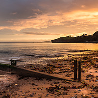 Buy canvas prints of Golden Dawlish by Dave Rowlatt