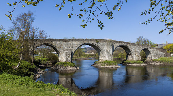 Stirling Bridge Canvas print by Ian Young