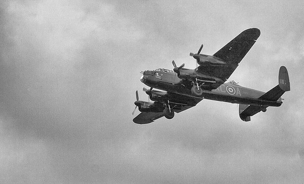 Lancaster Bomber Canvas print by Ian Young