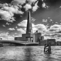 Buy canvas prints of  Shard by Mark Godden