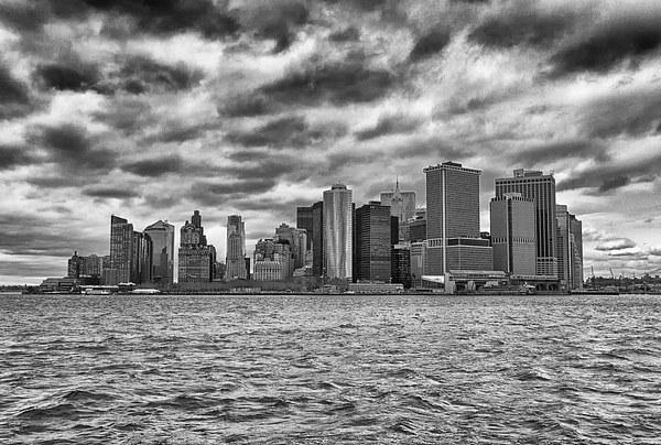 Manhattan. Framed Mounted Print by Mark Godden