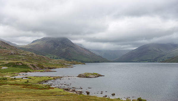Wastwater.  Canvas print by Mark Godden