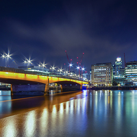 Buy canvas prints of  London Bridge by Rich Wiltshire