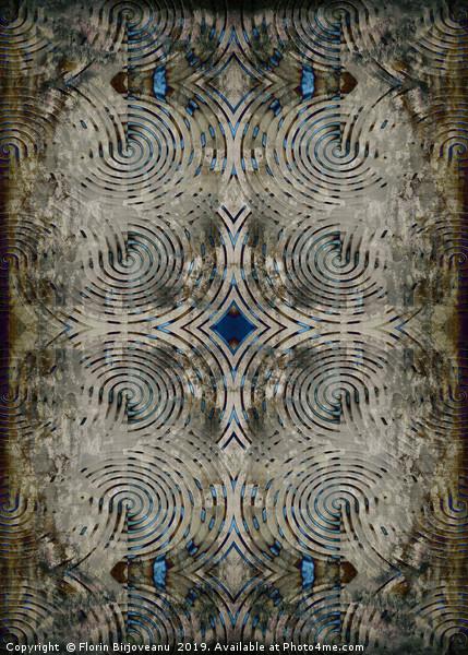 Carbon Textured  Canvas Print by Florin Birjoveanu