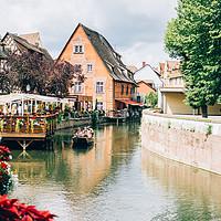 Buy canvas prints of Colmar Canal by Patrycja Polechonska
