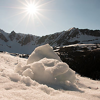 Buy canvas prints of Spring Snow by Fabrizio Malisan