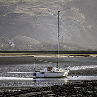 Buy canvas prints of Awaiting the tide by Jamie Scott