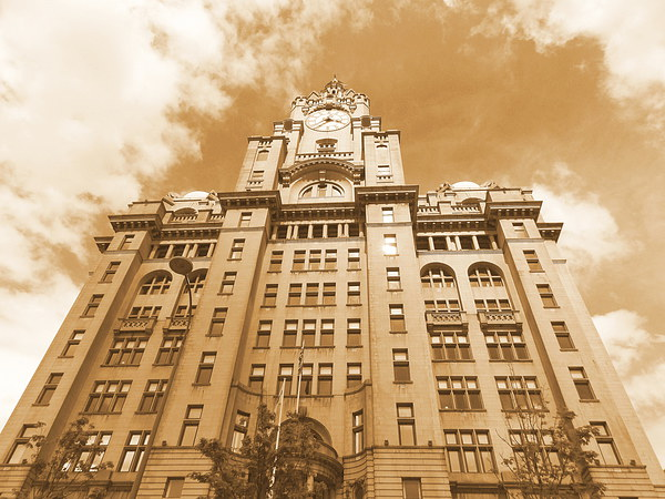 Liver Building Liverpool Canvas print by Tim Smith