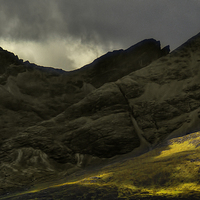 Buy canvas prints of  The Black Cuillins of Skye by Philip Hodges aFIAP ,
